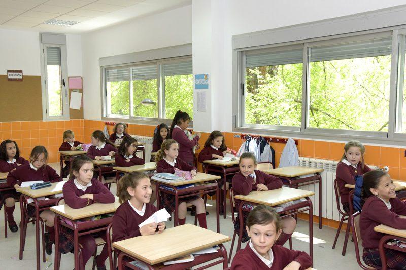 Aulas de primaria