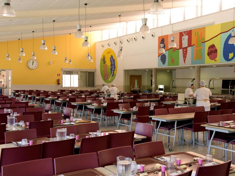 Comedor escolar - Centro Educativo Fuenllana