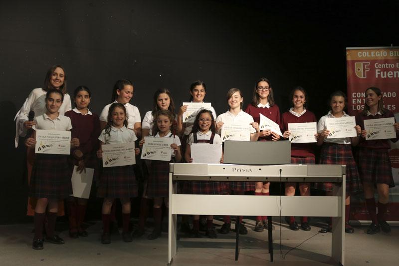 Piano. Escuela de música Fuenllana